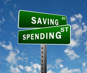 spend or save money essay