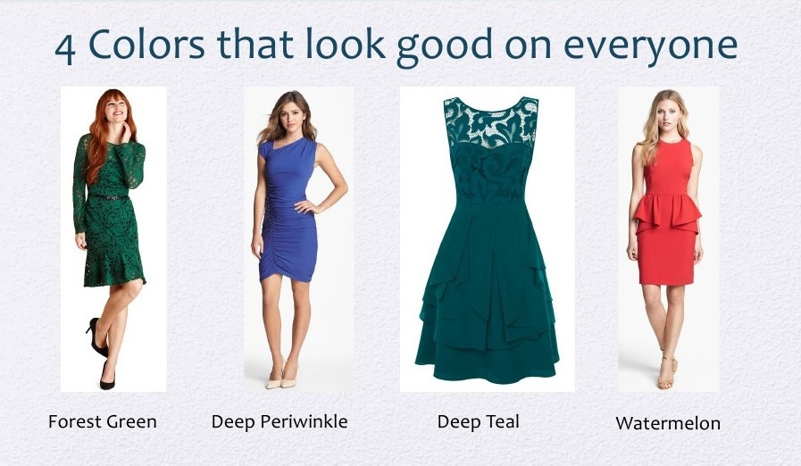 What should you wear to look pretty?